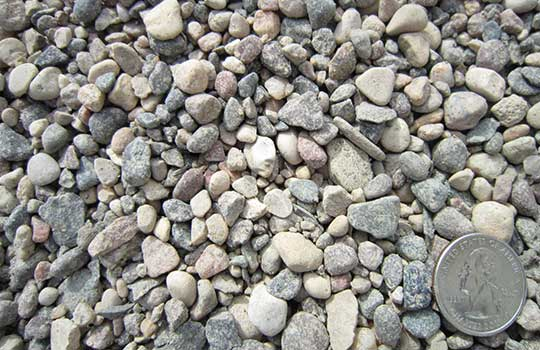"River Rock ¾"". Colorful stone for use in landscaping ... - River Rock - 3/4 Inch Landscaping Stone, MN Magnuson Sod"
